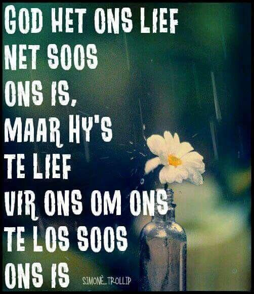 God het ons lief