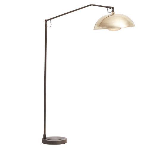 Baldwyn Sectional Floor Lamp Adjustable Floor Lamp Floor Lamp Contemporary Floor Lamps