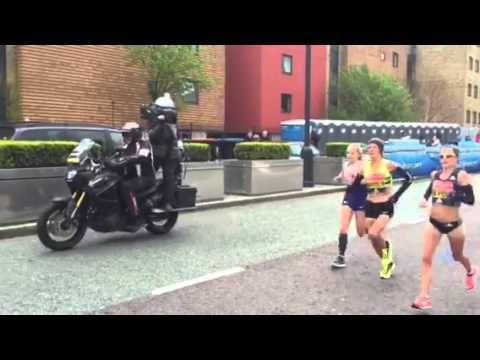 London Marathon 2016: Charlotte Purdue - YouTube