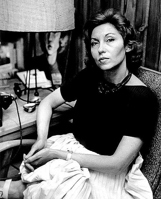 Clarice Lispector |  Photo : Casa de Rui Barbosa Foundation