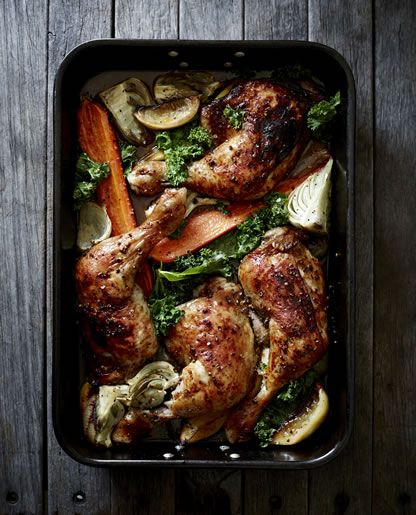 "PAPRIKA CHICKEN MARYLANDS by Pete Evans ""The Valet Chef"""