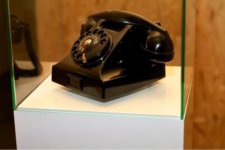 Swedish bakelite phone by Ericson, 1950's