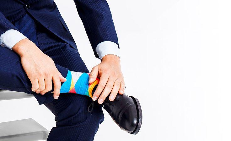 socks havana Nanushki colorful socks colors suit men fashion business elegant fun