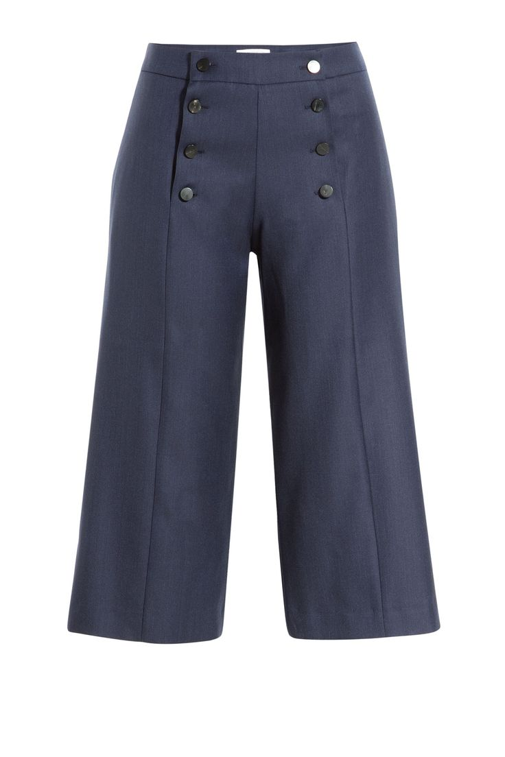 J.W. Anderson Wool Culottes, $620; stylebop.com     - ELLE.com