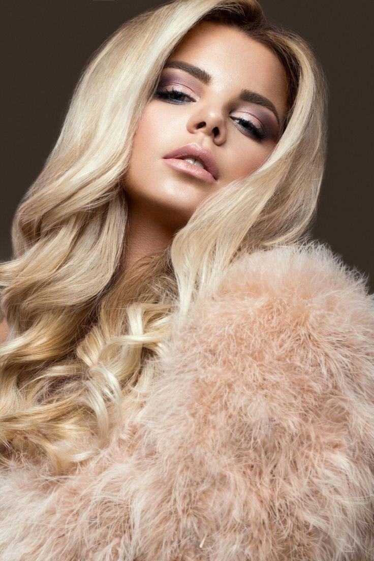 Blonde Teen In Fur 7