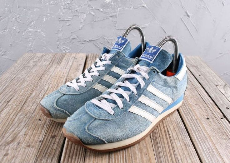 80's vintage running vtg adidas men's shoes size us 7.5 suede from $128.0