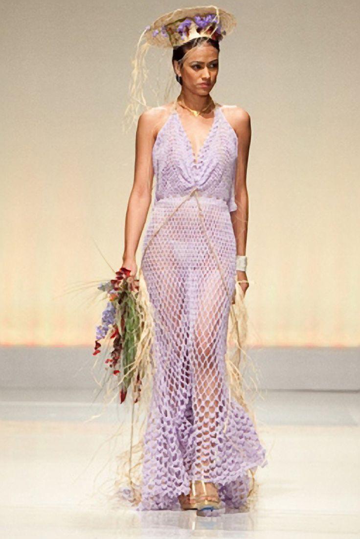 Crochet+Dress | Handmade Crochet Wedding Dress 1164 | kennethedgar