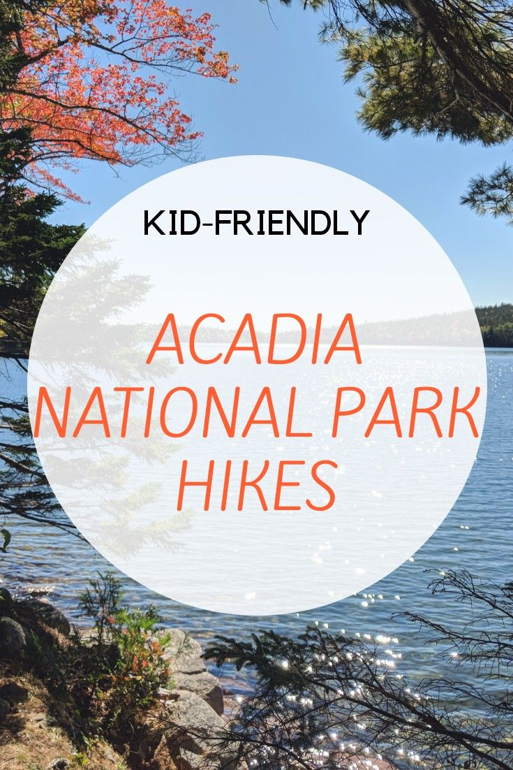 Hikes and top 10 things to do in Acadia with kids.