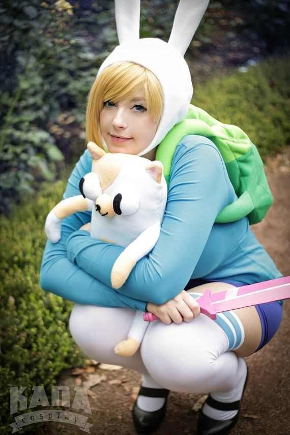 Fionna Cosplay - Adventure Time by K-A-N-A.deviantart.com on @DeviantArt