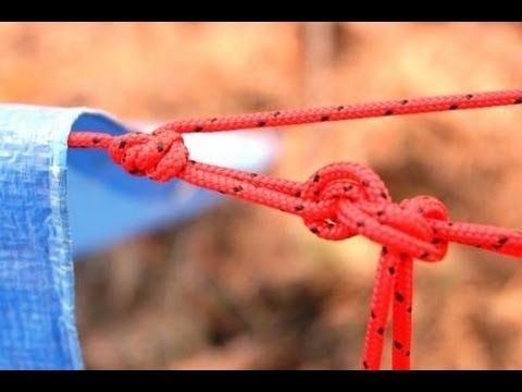 Knots are survival tools. Here are three that can help you quickly set up a tarp shelter.