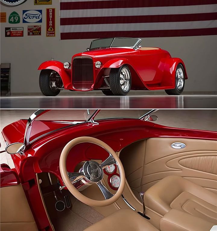 1932 ford muroc ii roadster by jerry kugel with. Black Bedroom Furniture Sets. Home Design Ideas