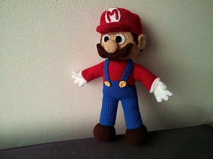 Amigurumi Super Mario Pattern : 1000 idees sur le theme Mario Crochet sur Pinterest ...