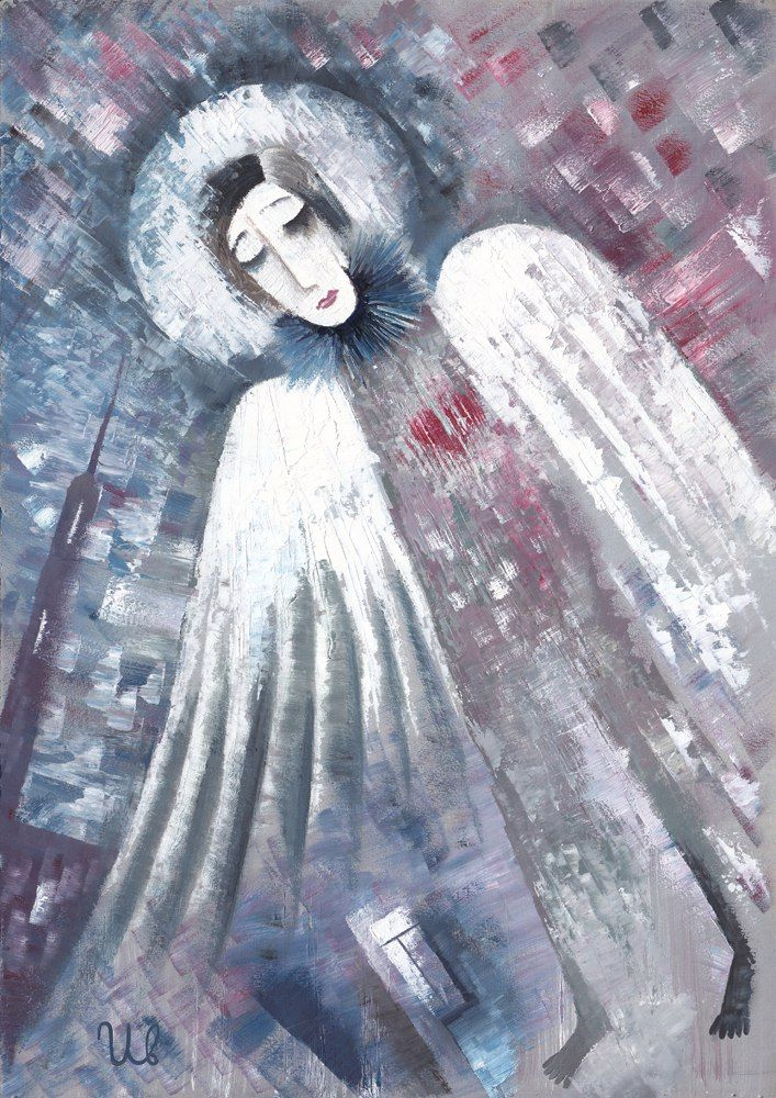 Angel Art by #eugeneivanov #@eugene_1_ivanov #modern #hipster #original #oil #watercolor #painting #sale #art_for_sale #original_art_for_sale #modern_art_for_sale #art_for_sale_artist #art_for_sale_eugene_ivanov #angel_art #angel  The official website by artist Eugene Ivanov: http://opatov.wixsite.com/eugeneivanov