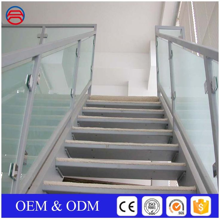Best Iso9001 Clear Frameless Frosted Tempered Glass Railings 400 x 300