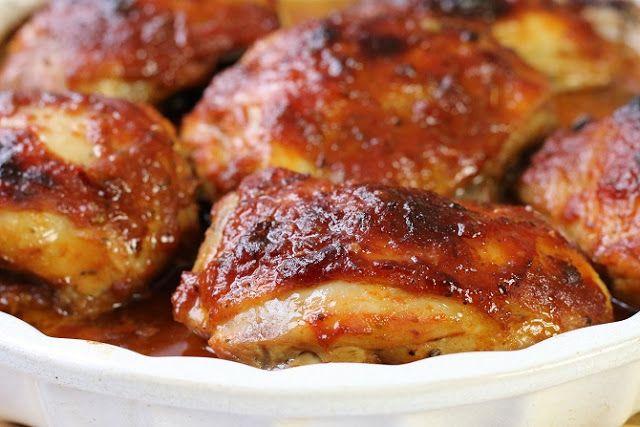 Domogród: Kurczak pyszny w marynacie pomidorowo-miodowej przepis