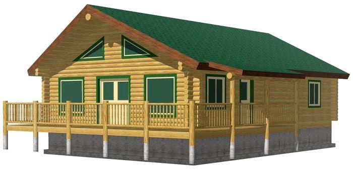 Eagle Creek cheap log cabin kit
