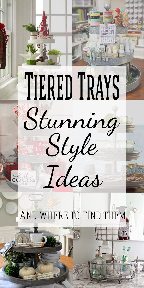 3 Tier Serving Tray Stands Beautiful Ideas To Decorate And Diy Tiered Tray Stand Decorating On A Budget Cheap Home Decor