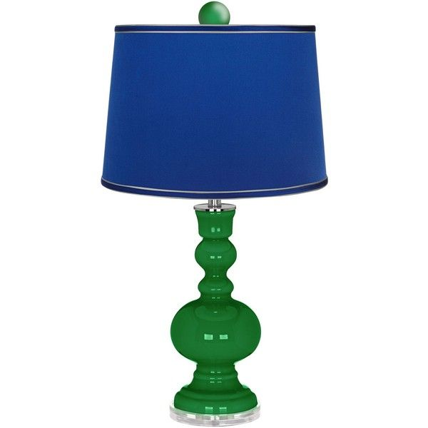 color plus envy apothecary lamp finial and satin dark blue shade 205. Black Bedroom Furniture Sets. Home Design Ideas