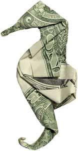Origami - Caballito de Mar - Dollar