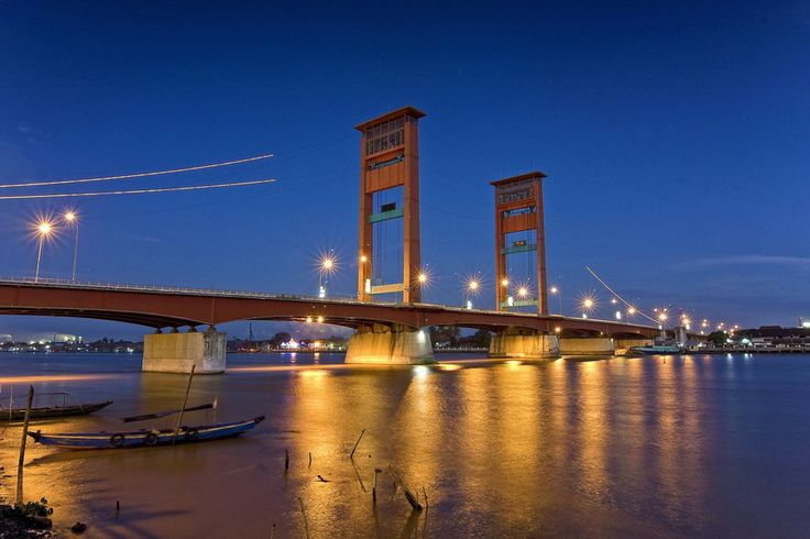 Ampera Bridge    Palembang (South Sumatera) - Indonesia