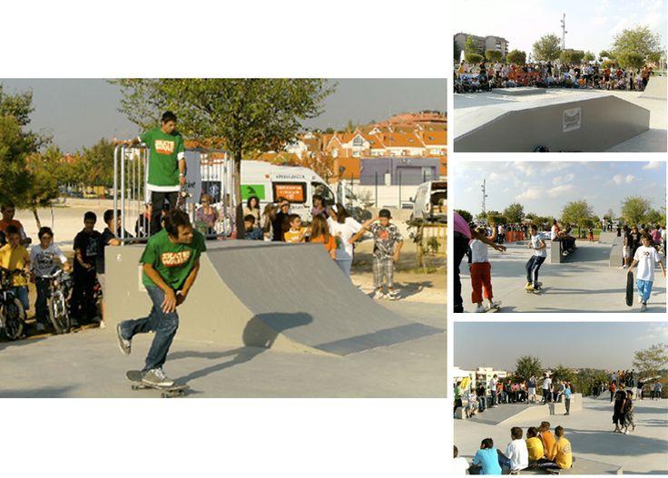 Bdu - Skatepark Algete, Madrid #bdu #juegos #skatepark #madrid #proyectos