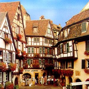 Colmar historic centre