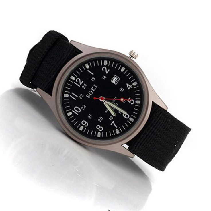 $2.60 (Buy here: https://alitems.com/g/1e8d114494ebda23ff8b16525dc3e8/?i=5&ulp=https%3A%2F%2Fwww.aliexpress.com%2Fitem%2FRelojes-Hombre-2015-Men-Black-Quartz-Dial-Glass-Hour-Clock-Canvas-Business-Wristwatch-Relogios-Masculinos-Round%2F32573924038.html ) Relojes Hombre 2015 Men Black Quartz Dial Glass Hour Clock Canvas Business Wristwatch Relogios Masculinos Round Case Watch Man for just $2.60