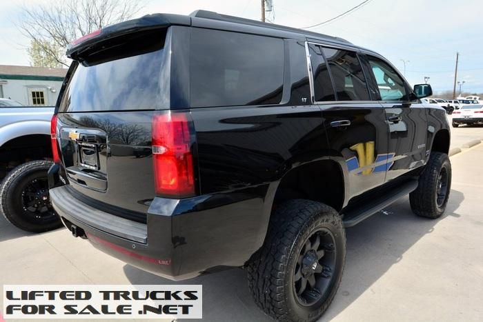 used 2015 chevrolet tahoe lt lifted leather lifted chevy trucks for sale pinterest. Black Bedroom Furniture Sets. Home Design Ideas