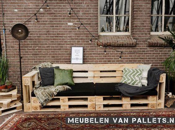 Sofá de Pallet: +110 Modelos, Fotos e Como fazer em 2020 ...