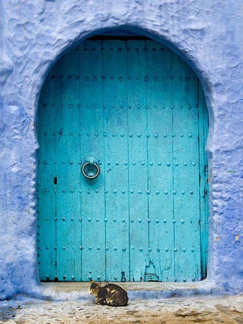 Blue Door, Coastal Style