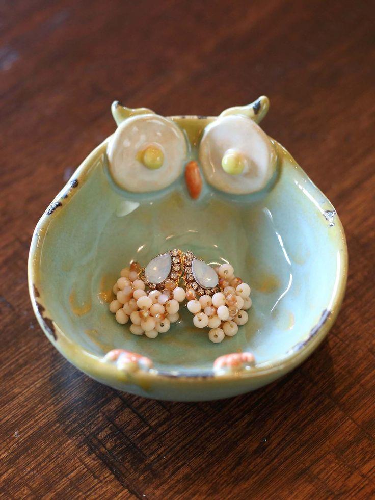 Ceramic Owl Bowl ♥