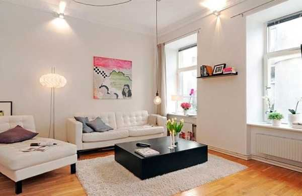 Airy Apartment Decorating In Swedish Style Modern