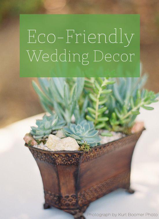 145 ideas for eco-friendly wedding decor