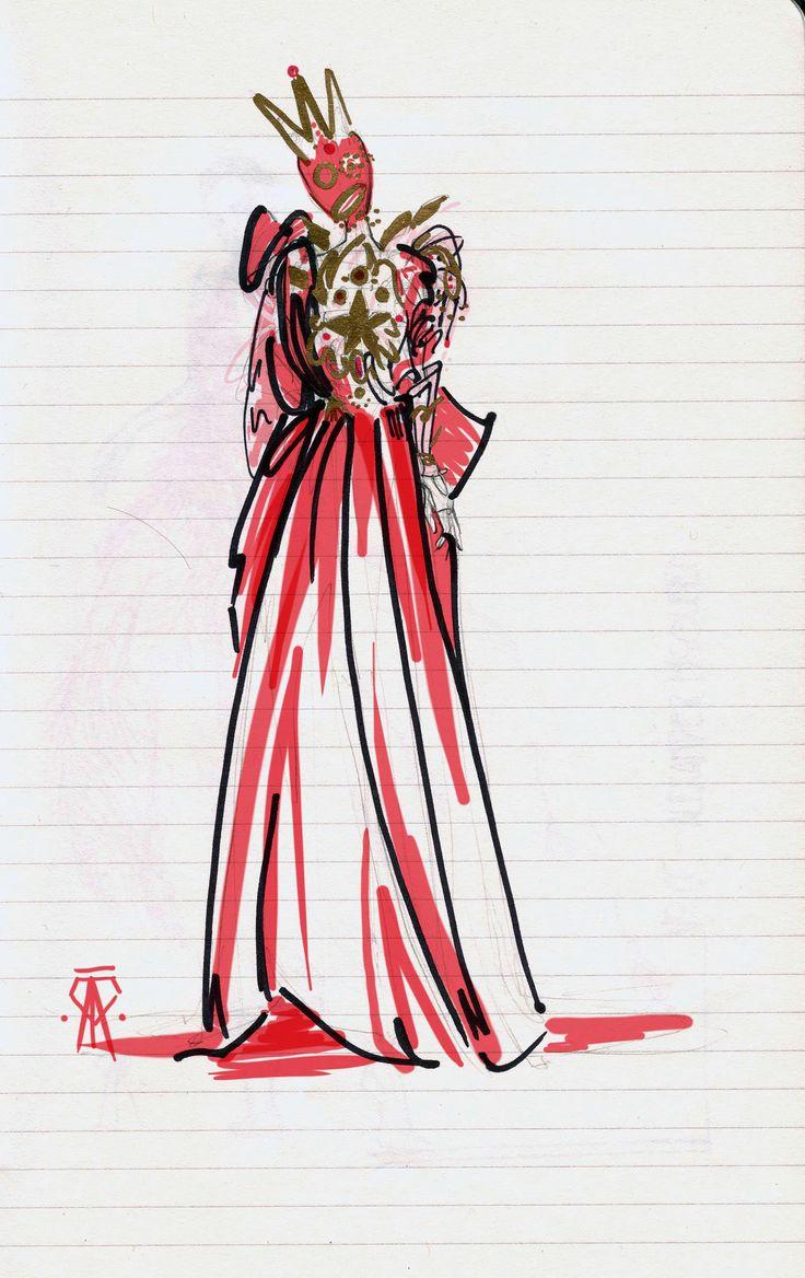 John Galliano para Maison Margiela Artisanal S/S15 fashion sketch