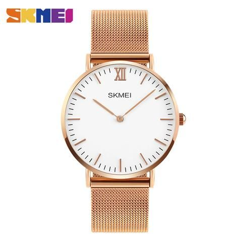 [EBay] Skmei Ultra-Thin Dial Women Quartz Wristwatches Stainless Steel Simple Stylish Stainless Steel Band Ladies Watch Waterproof 1181