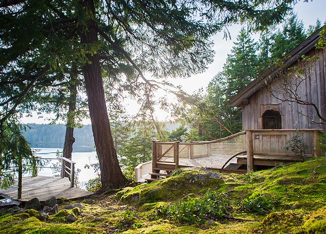 Hague Lake House, British Columbia, Canada | cabin rentals