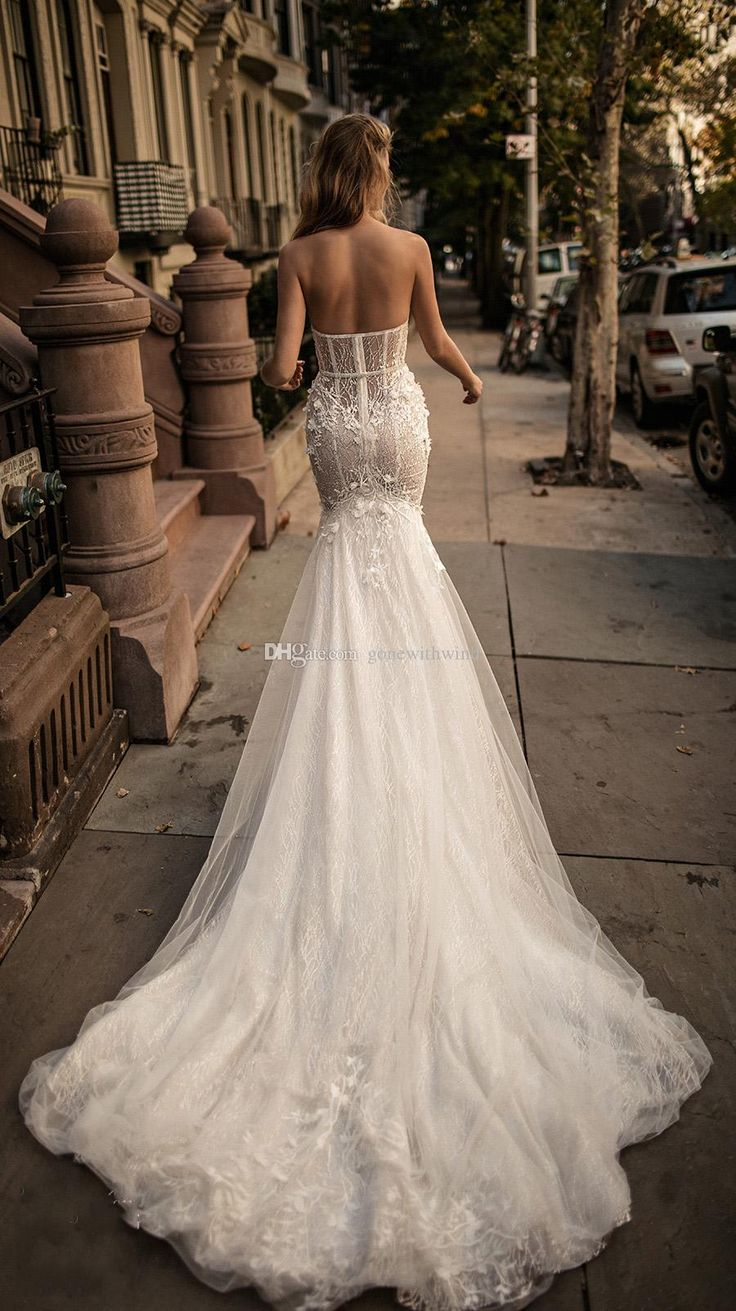 Best Mermaid Wedding Dresses 2017 : Best corset wedding dresses ideas on white