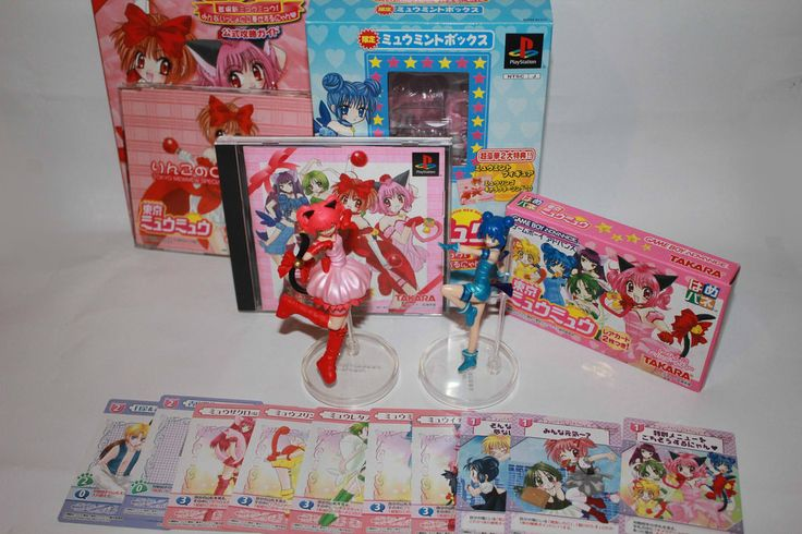 Tokyo Mew Mew - Game collection Nya~ by Harley-Chaplin on ...