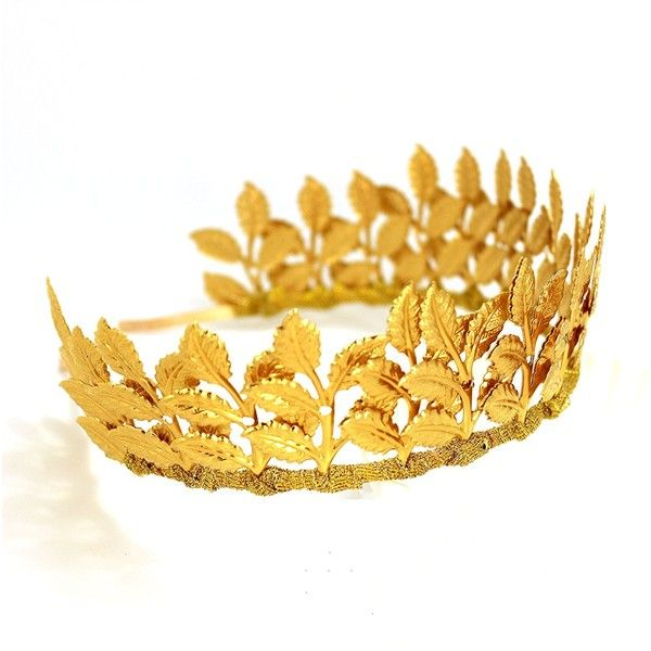 The Best Gold Leaf Headband Ideas On Pinterest Gold Hair