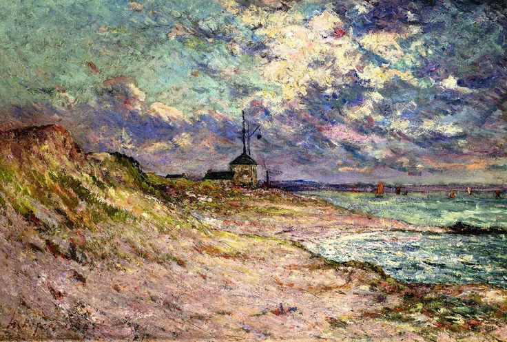 The Semaphore Station, Beg-Meil - Maxime Maufra