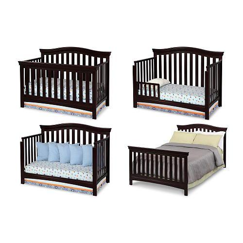Delta Children Bennington Bell 4 In 1 Convertible Crib