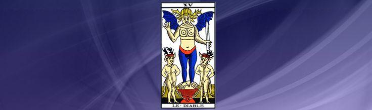THE DEVIL'S TAROT CARD, POSITIVE OR NEGATIVE? http://www.the-medium-maria.com/free-trial-offers/free-psychic-reading-online.html #MediumMaria #Tarot #Numerology
