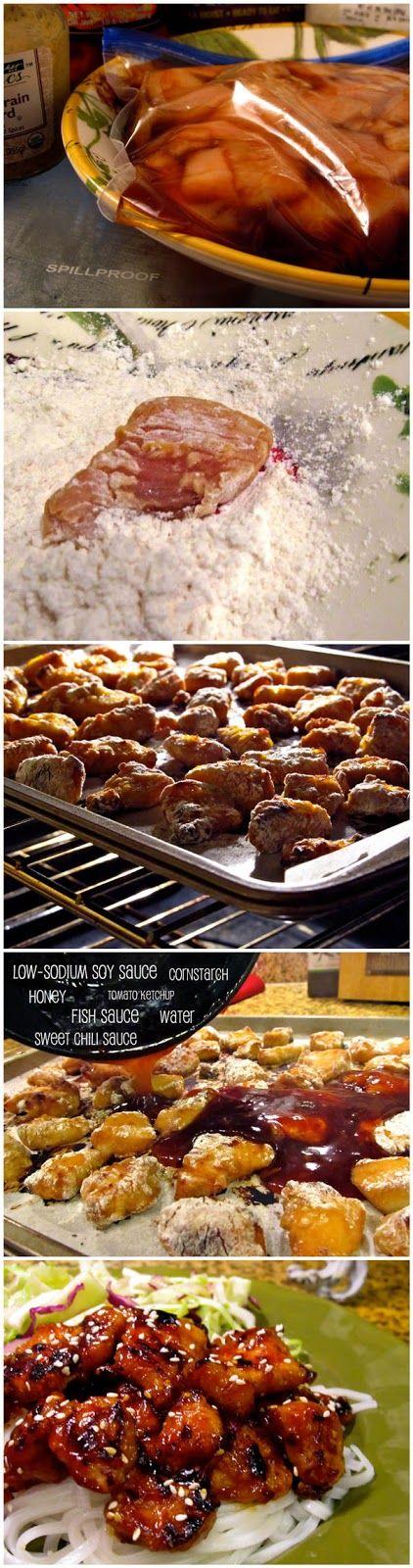 Honey Teriyaki Chicken. So amazing!!! must do again soon....