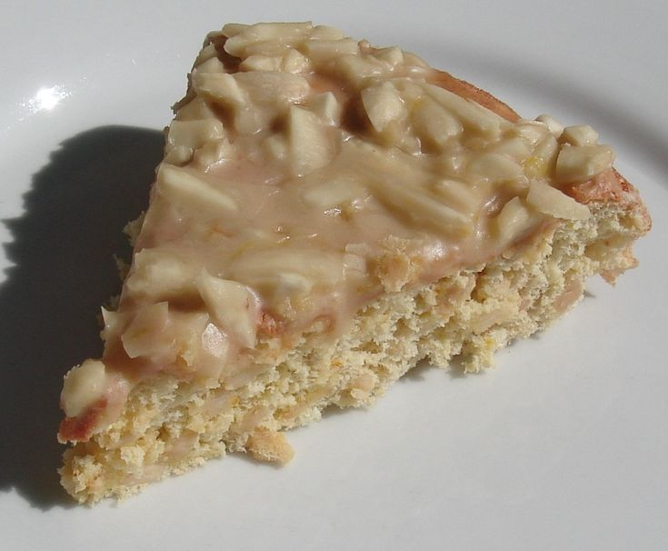 Almond Cake with Orange Glaze