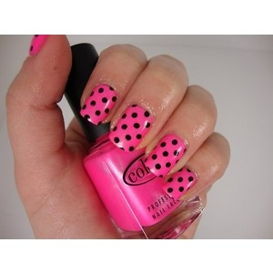 pink and black