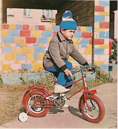 Детский велосипед КВД: