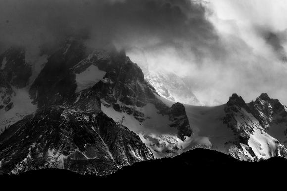 Entre nubes y cerros