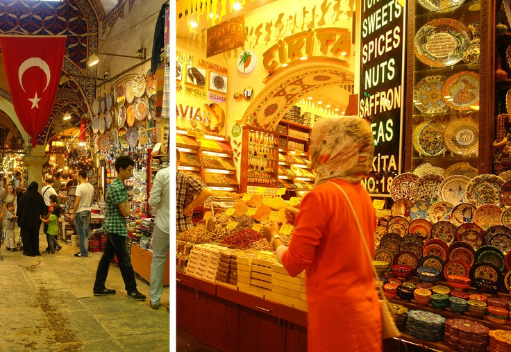 Free range in Turkey - the markets at night  www.annabel-langbein.com