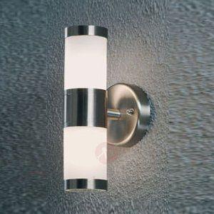Enkel utendørs MODENA vegglampe med to lys 5522094