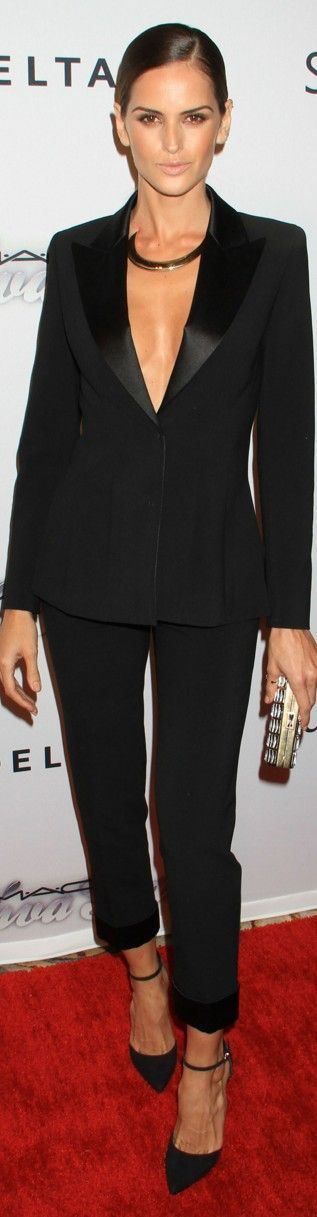 Izabel Goulart 2013 amfAR Gala NYC. Wear with a button-down during the corporate day, then get sexy without once you leave work for the hotspots!